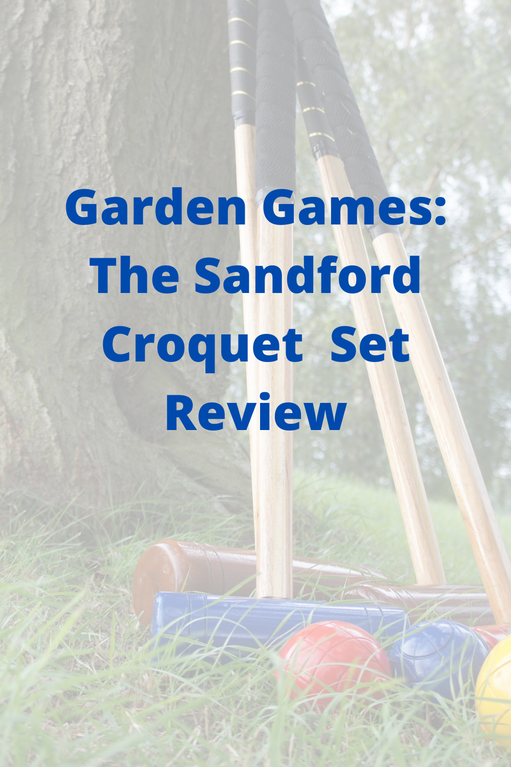 The Sandford Croquet Set Review