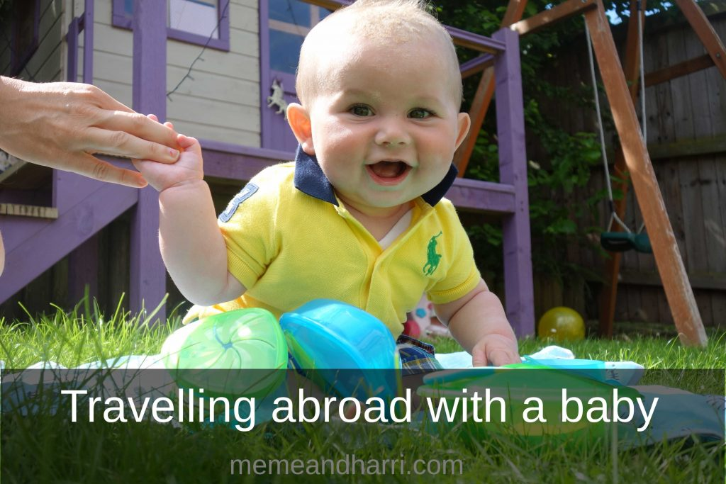 travelling abroad with a baby