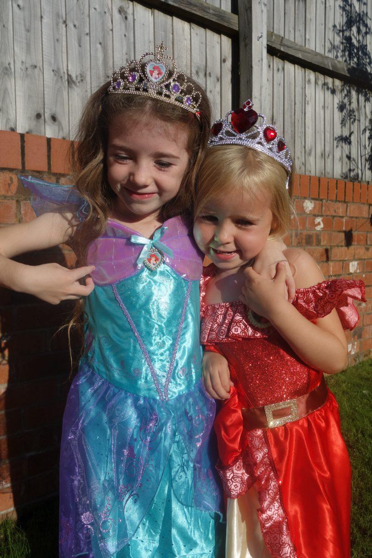 Meme in Princess Ariel costume.