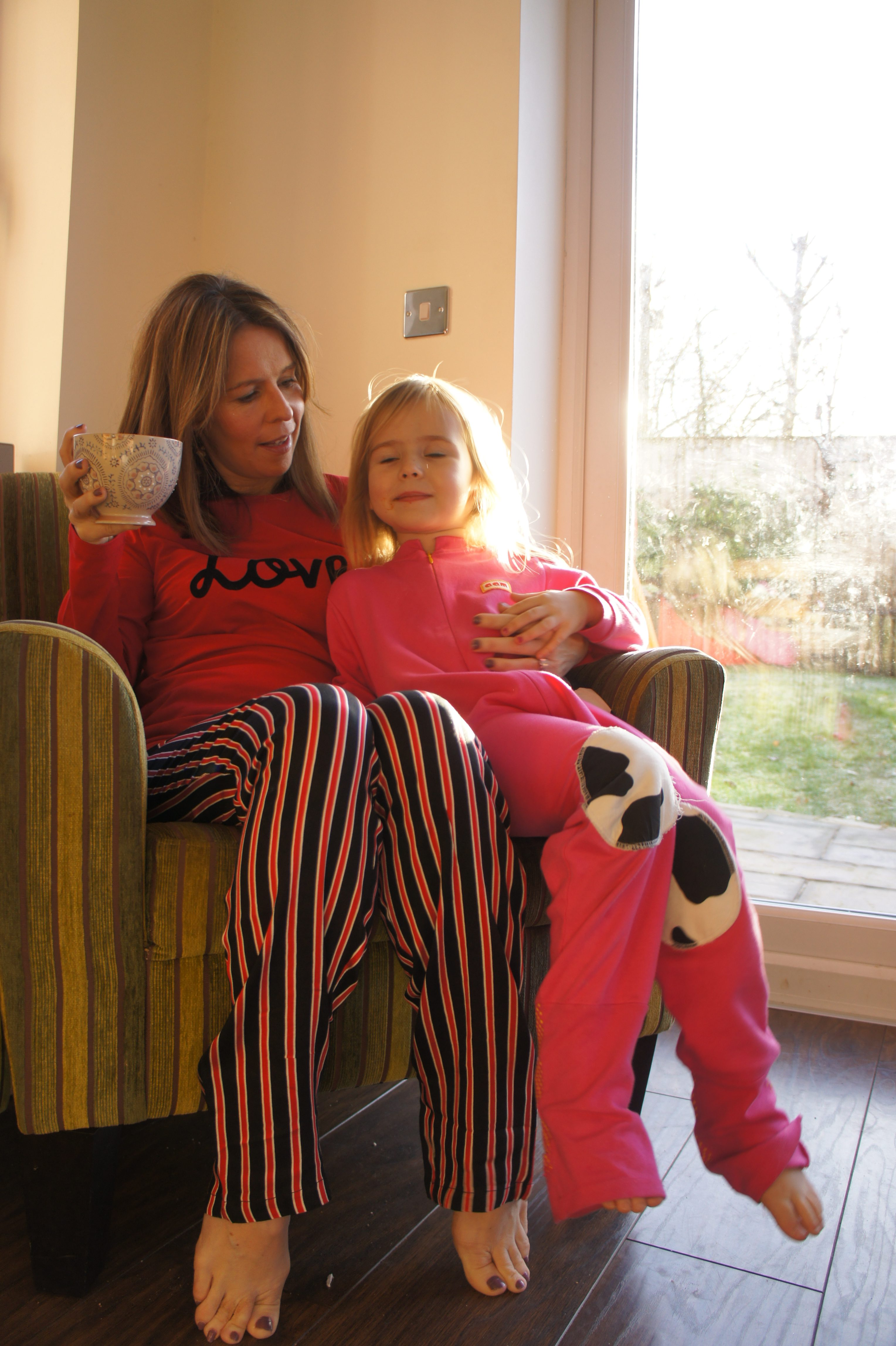 Hunkemoller Love Striped Pyjamas