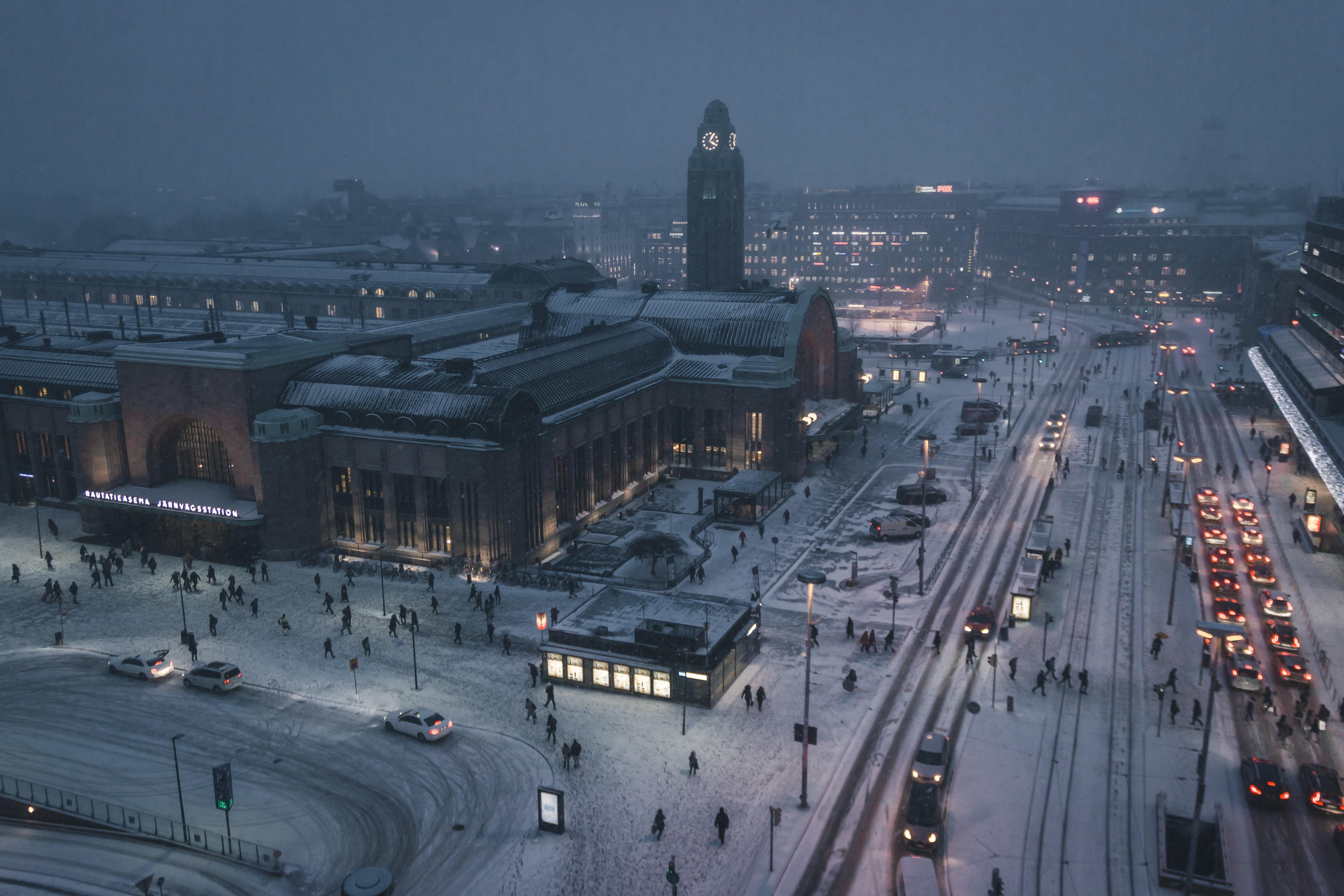Winter family holiday Scandinavia