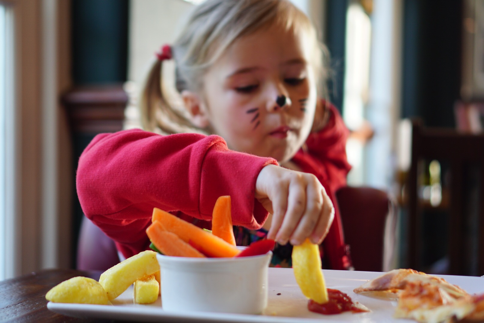 Child friendly places to eat in Cheshire. The Cheshire Cat