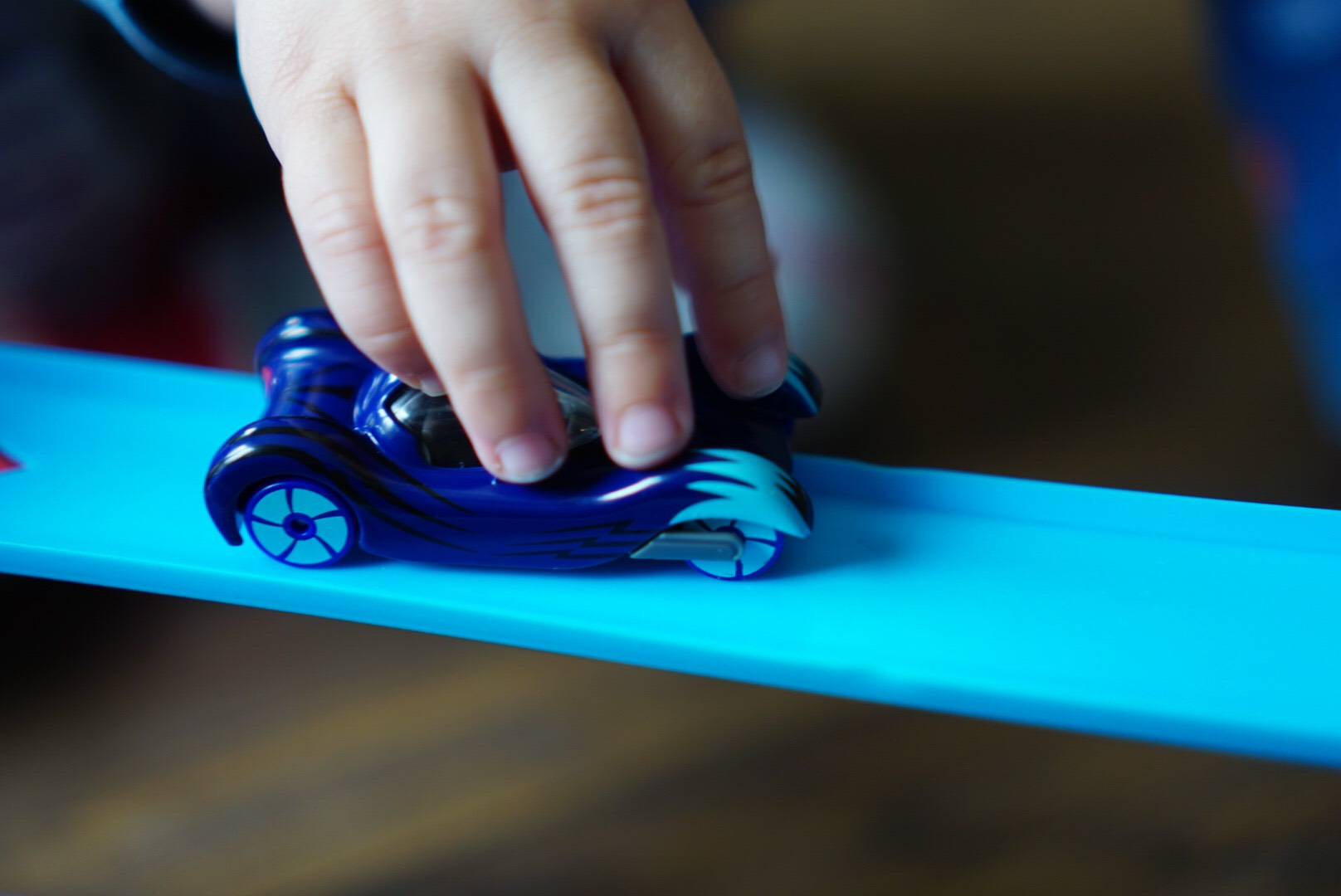 PJ Masks car on track