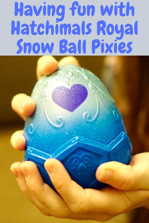Hatchimals Royal Snow Ball Pixies