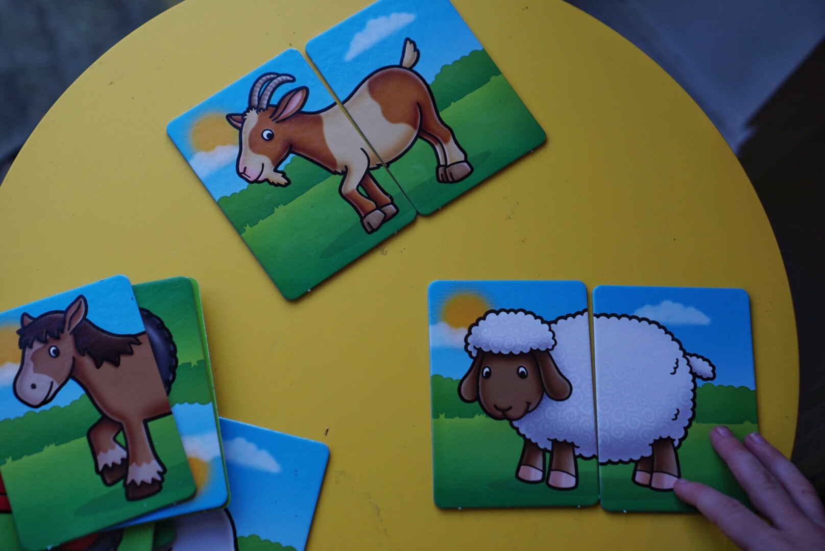 Farmyard Heads and Tails Orchard Toys