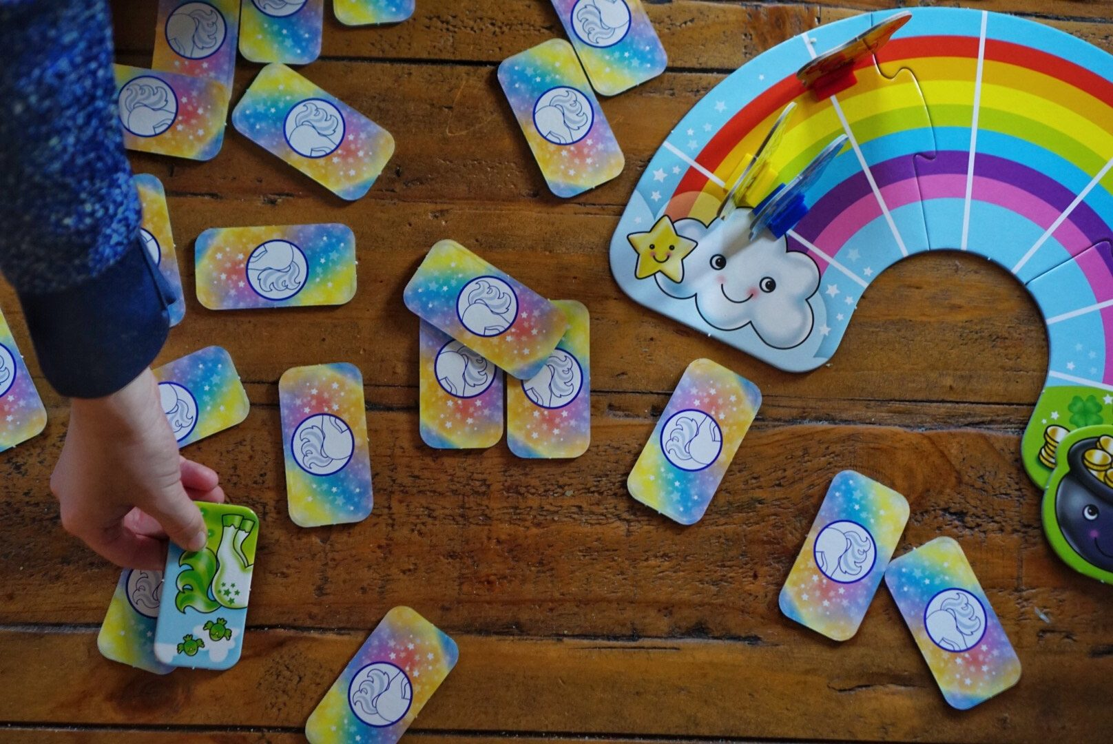 children's learning games Rainbow Unicorns Orchard Toys