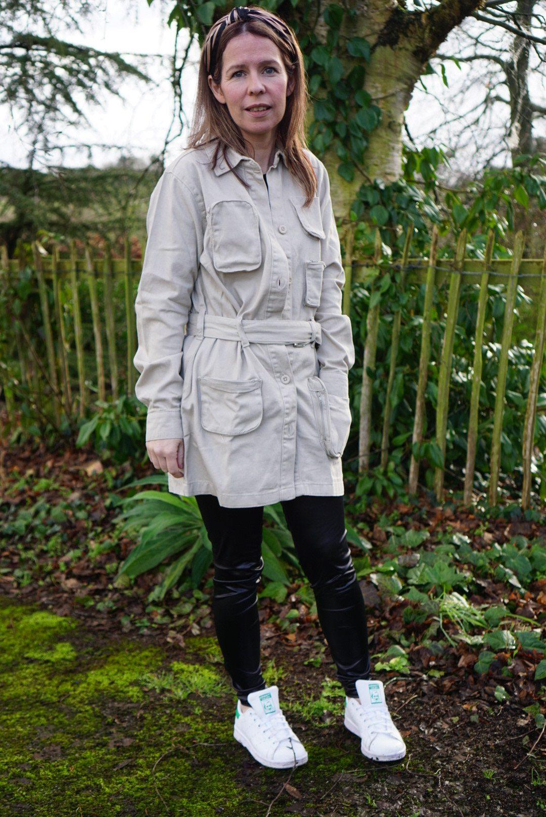 Femme Luxe Utility Jacket