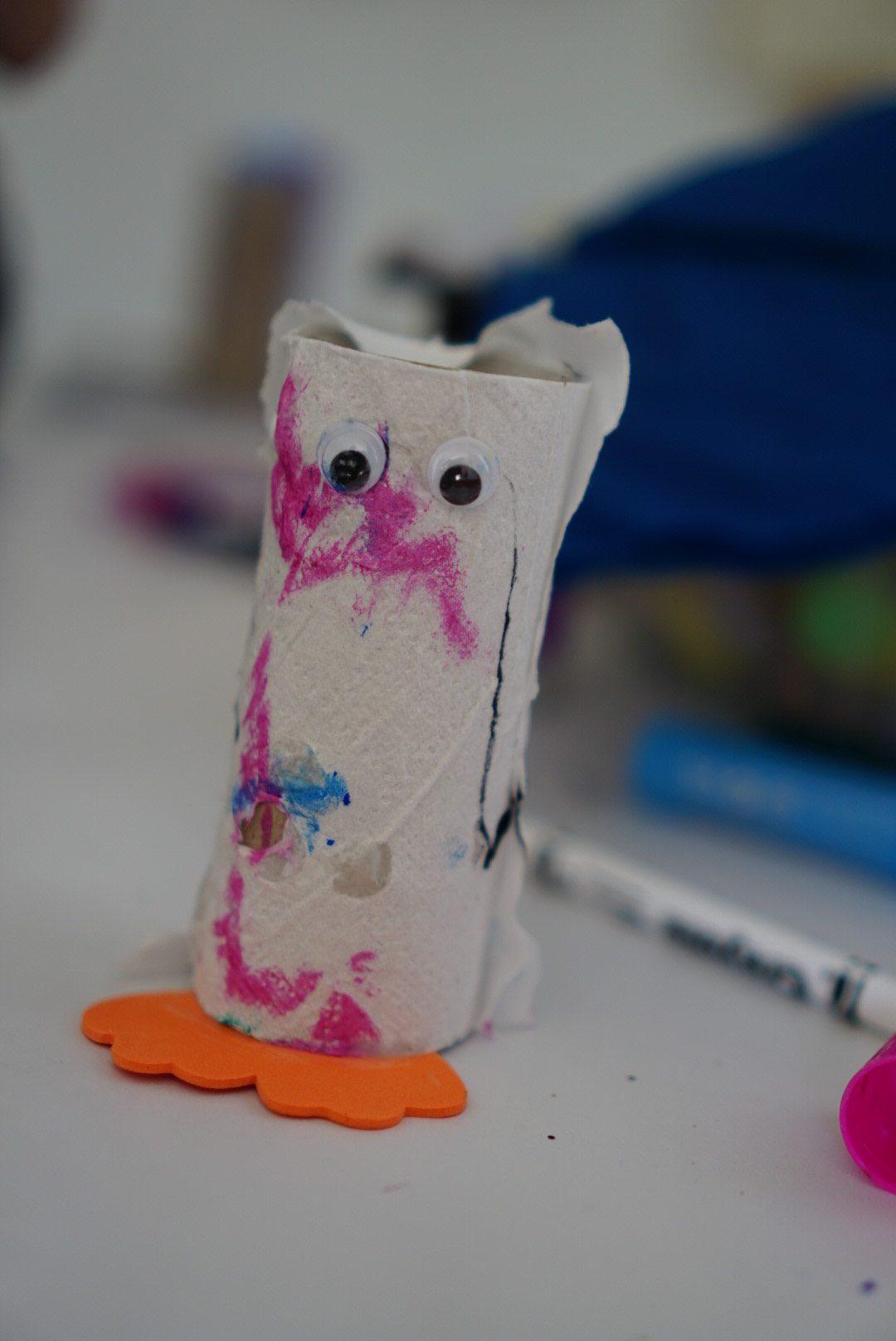 homeschooling week 5 toilet roll crafts