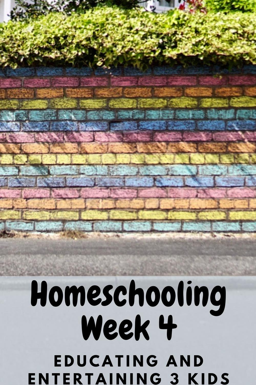 homeschooling week 4