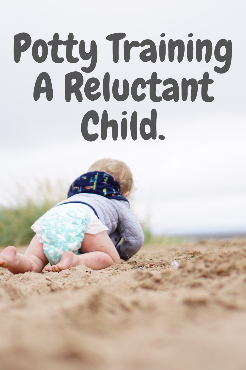 Potty training a reluctant child