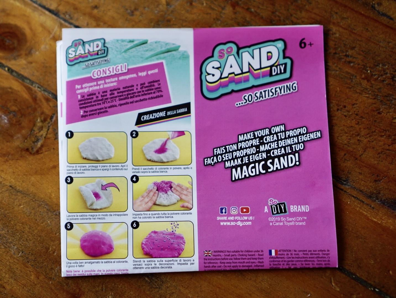 so sand