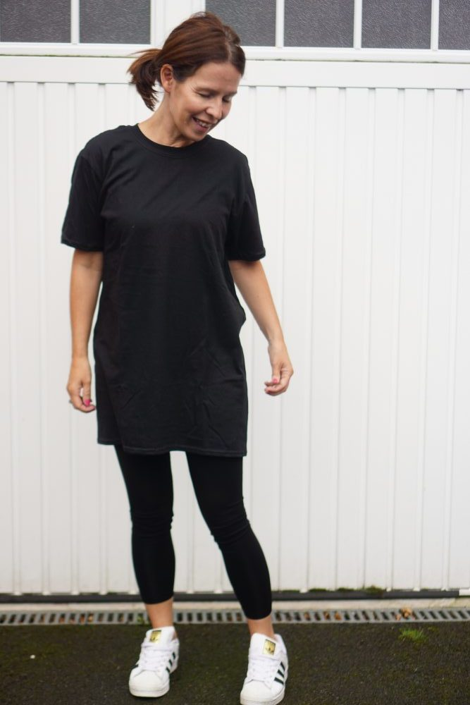 Oversized casual t-shirt