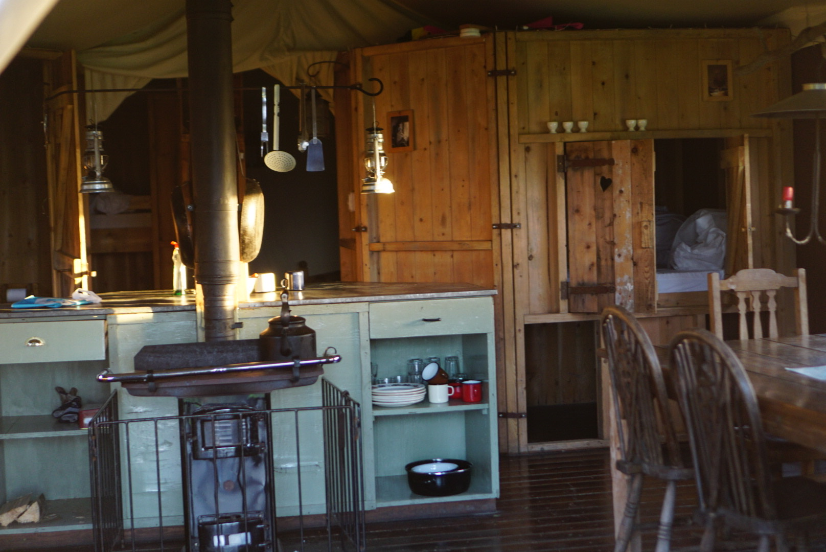 Family Glamping in Wales