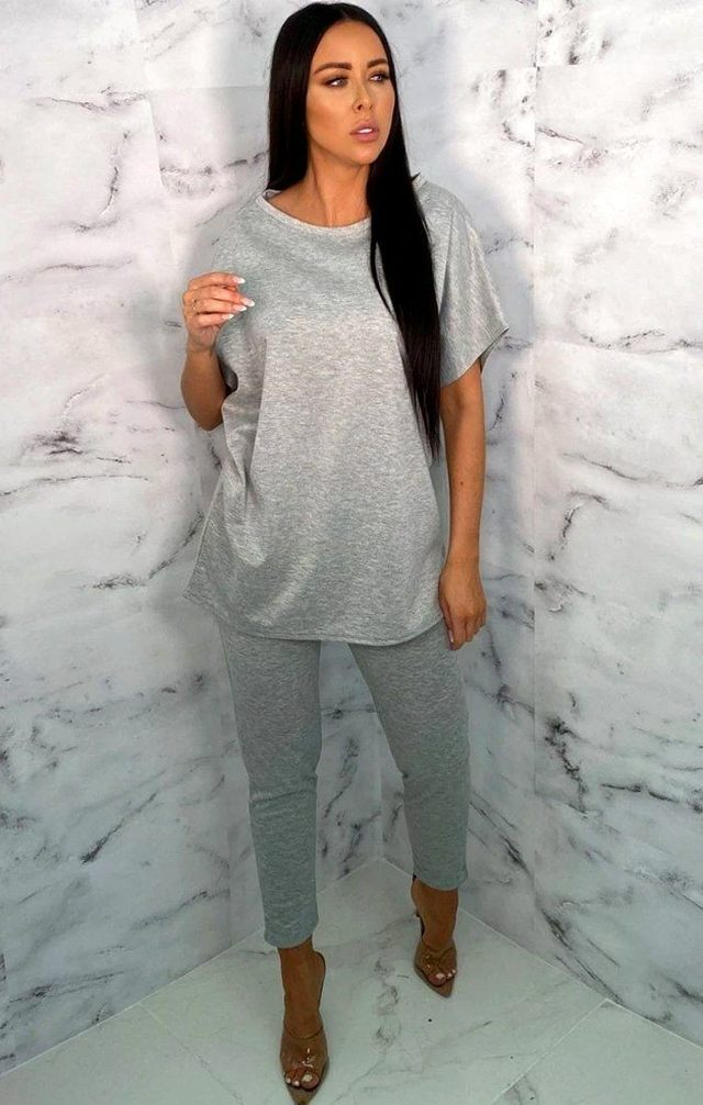 oversized leggings grey