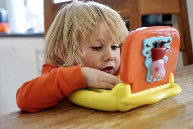 Peppa Pig Learning Toys Laugh and Learn Laptop.