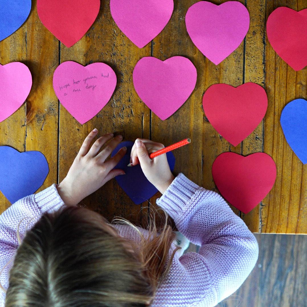 celebrate valentine's day with children