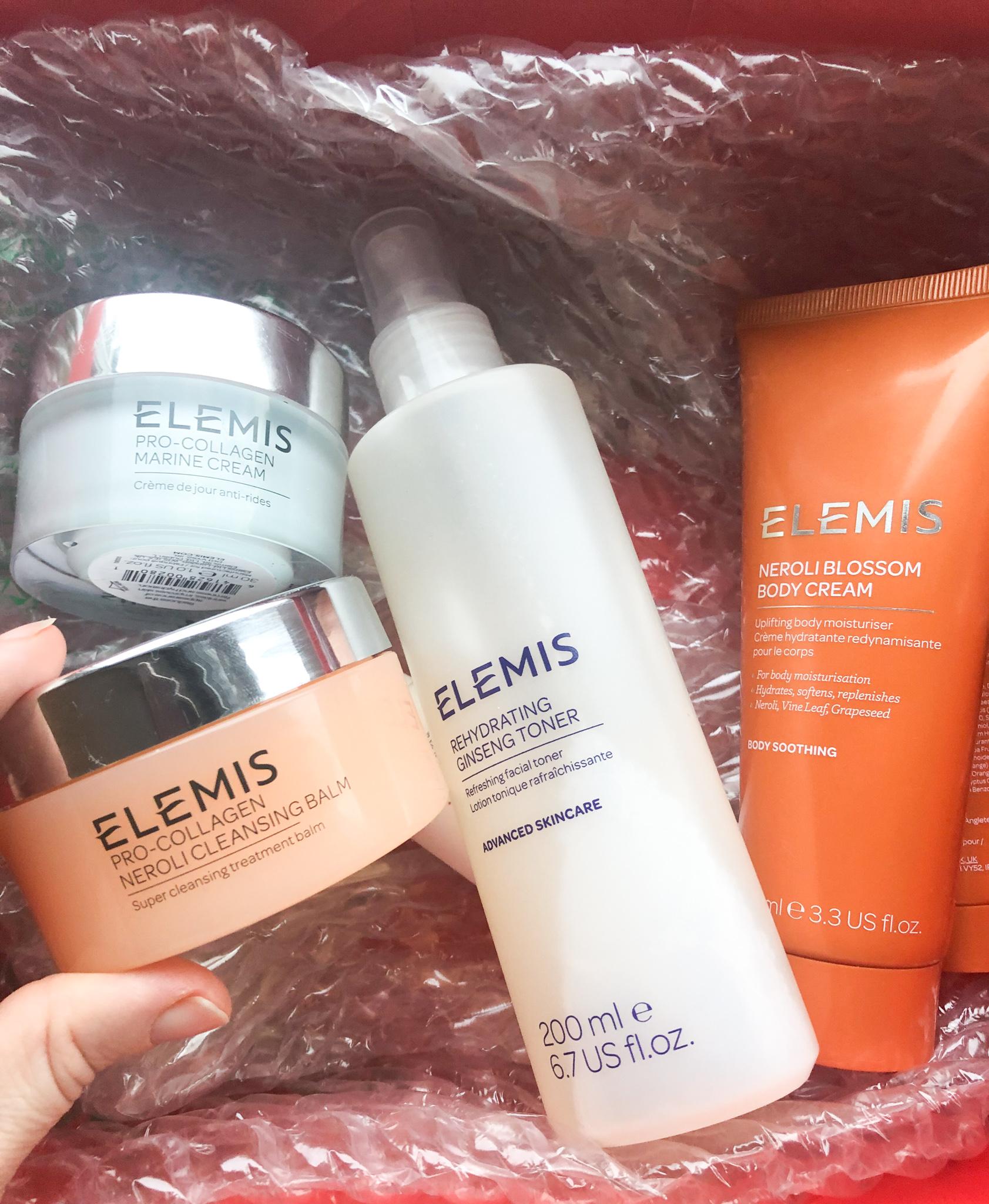 positive changes Elemis skincare