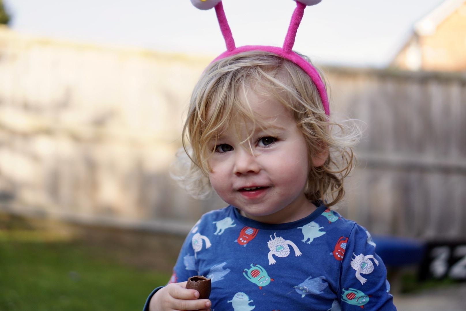 Easter egg bunny ears