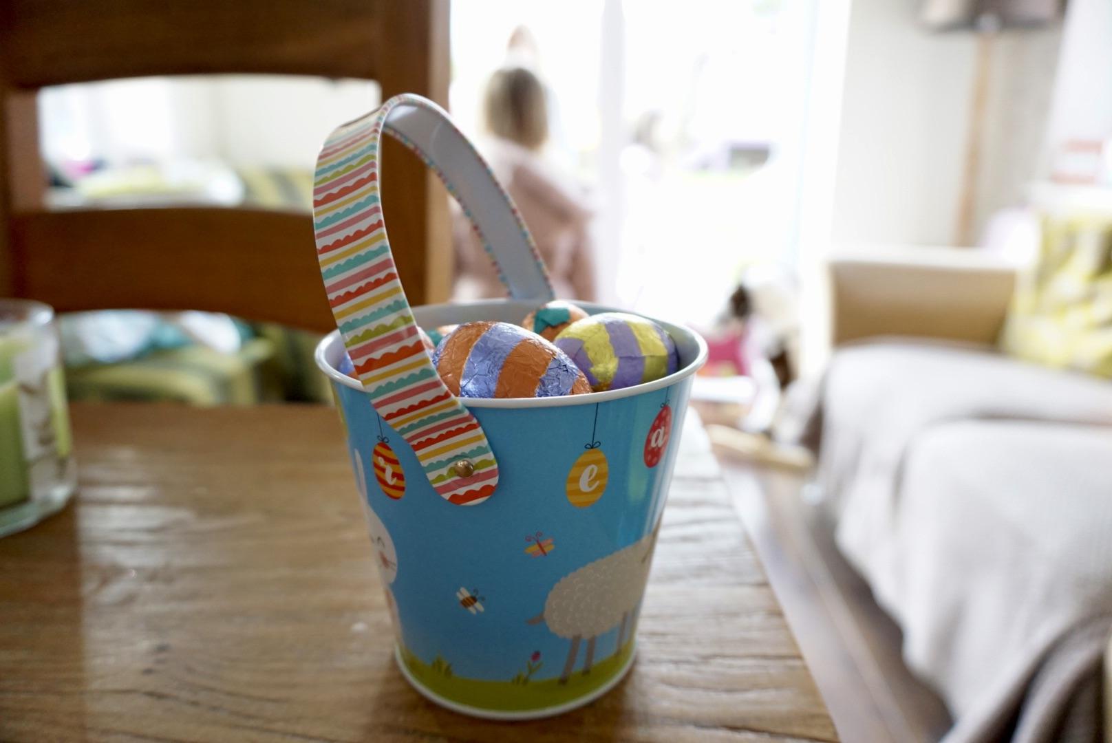 Easter egg hunt carrier