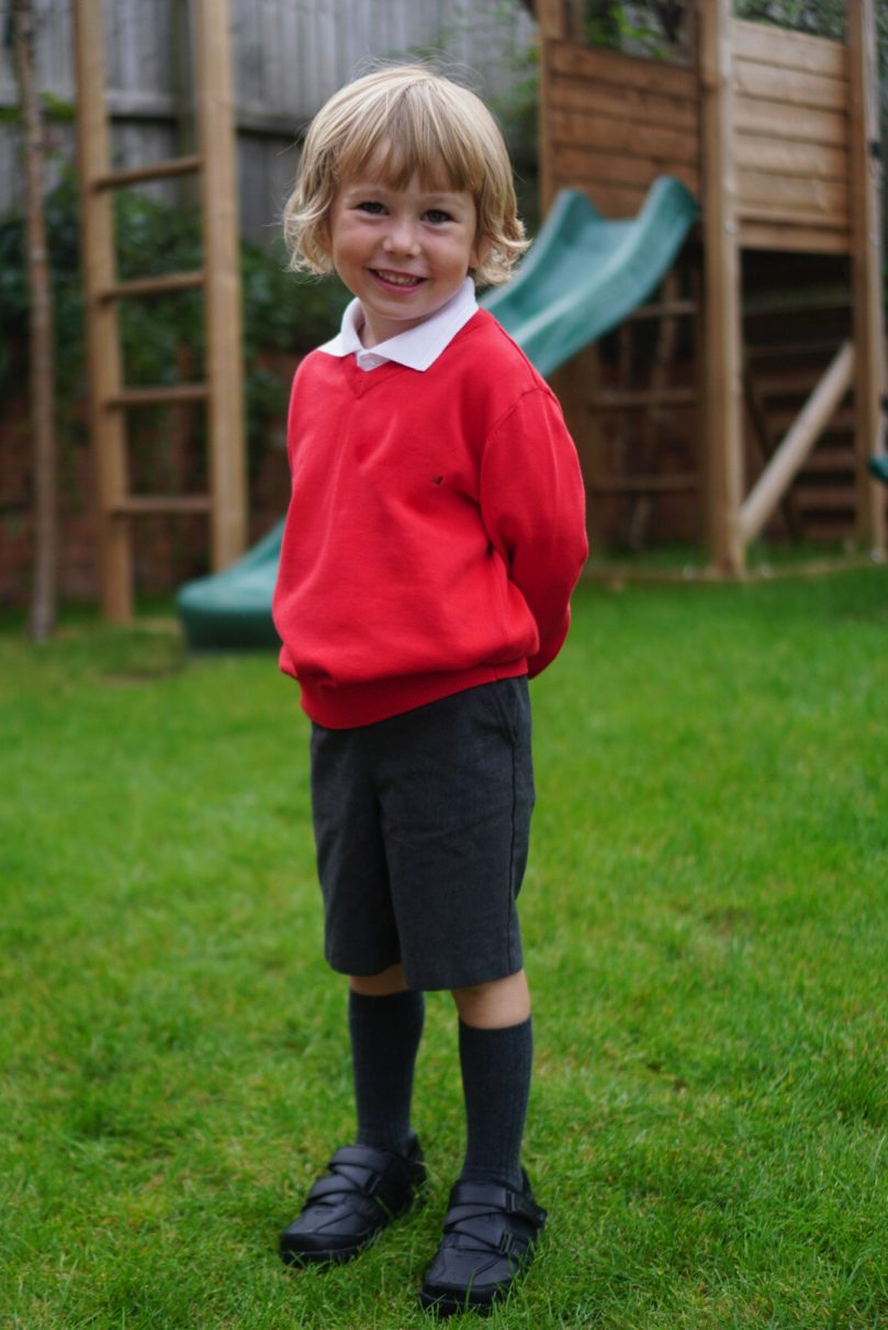 Alfies first day of school