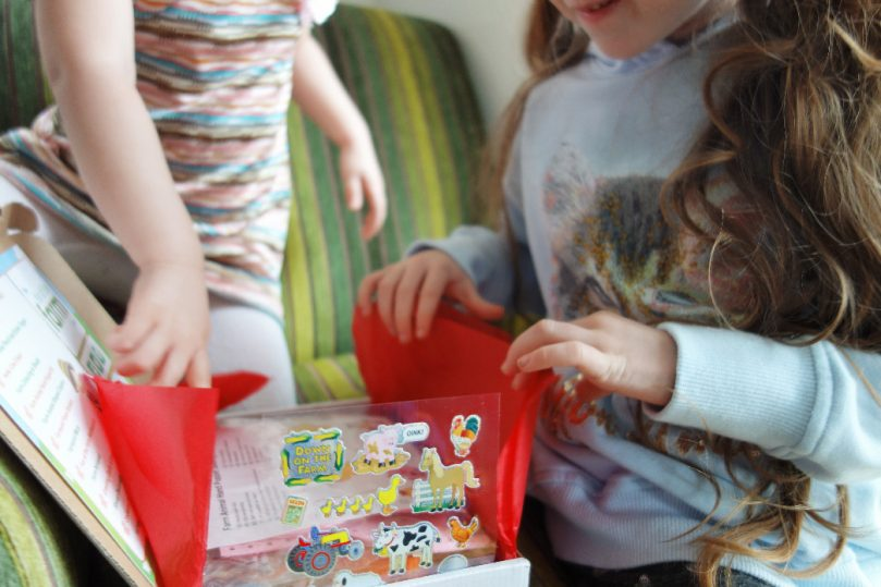 Mila and Pheebs activity box